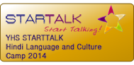 YHS Bensalem STARTALK Summer Hindi Camp 2014